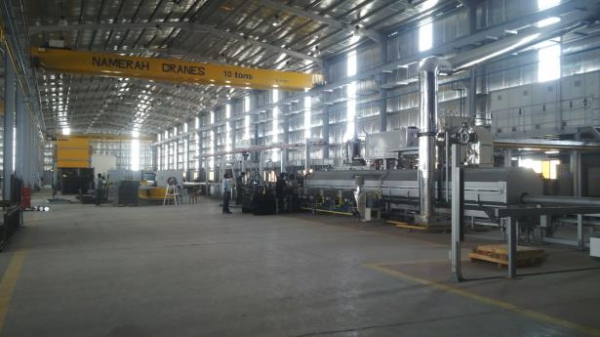 TECALEX implements turnkey plant in Dammam