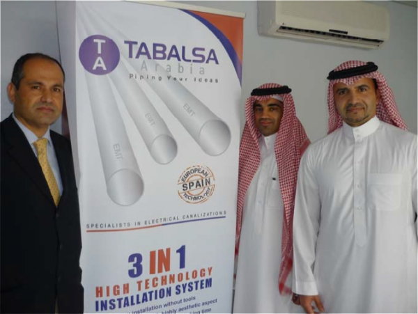 TABALSA Launches the steel pipes business in Saudi Arabia